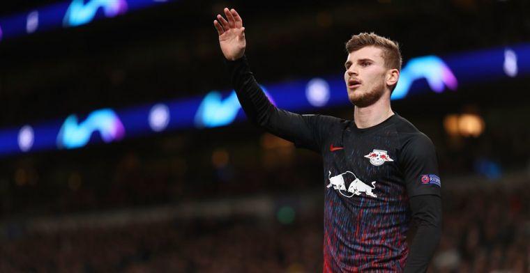 Leipzig-goalgetter Werner: 'Ik zou goed bij Liverpool van Klopp passen'