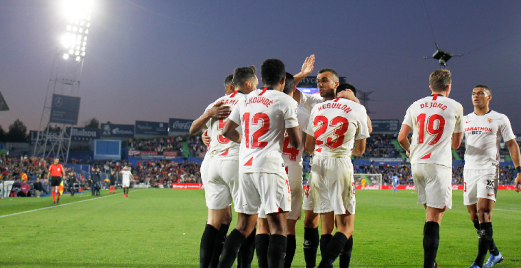 Sevilla geeft Ajax goede voorbeeld en verslaat Getafe met ruime cijfers
