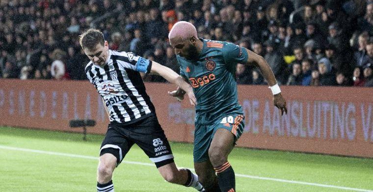 'Ik laat bij Ajax niet zien wat ik kan, maar heb er vertrouwen in dat dat komt'