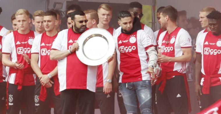 Ajax-huldiging in mei bijna stilgelegd door trillingen bij entree vader Nouri