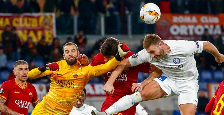 Thorup wilde geen risico nemen met Depoitre, maar rekent op hem tegen Roma