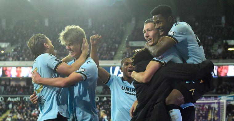 Club Brugge vecht tegen struikelblokken: 'Voetballen vooral tegen zichzelf'