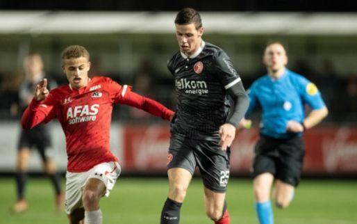 Systeemfout KNVB: Jong AZ-Almere City (3-3) moet opnieuw gespeeld worden