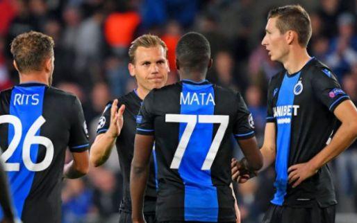 SELECTIE: Club Brugge mist naast Balanta nog twee basisspelers in Manchester