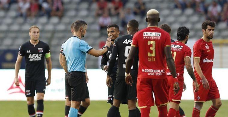 Met kaarten strooiende arbiter aangesteld voor return Ajax-Getafe