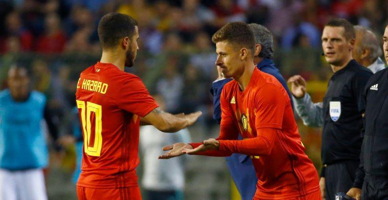 Blessure Hazard doet ergste vrezen voor EK: Eén van spelers die onmisbaar zijn