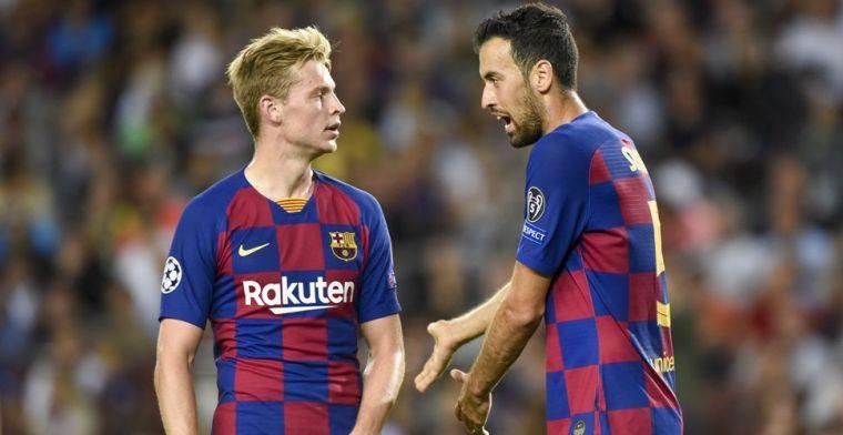 Wenger begrijpt teksten Messi: 'De Jong sitting player, Busquets sitting player'