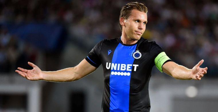 Nog meer zorgen voor Club Brugge: 'Vormer wekenlang buiten strijd'