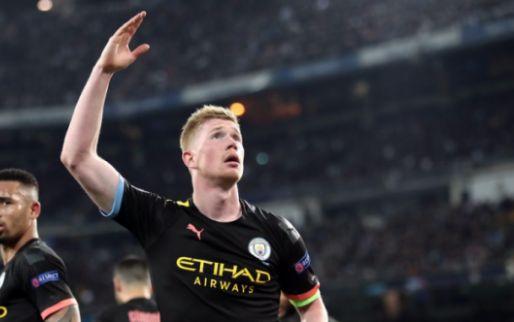 Hele voetbalwereld looft De Bruyne: 'De beste ter wereld, de échte Galactico'