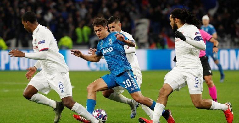 Juve in de problemen na heenwedstrijd in Lyon: Denayer wint van Ronaldo