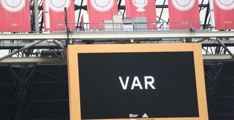 KNVB krijgt kritiek om VAR-keuze: 'De landstitel is veertig miljoen euro waard'