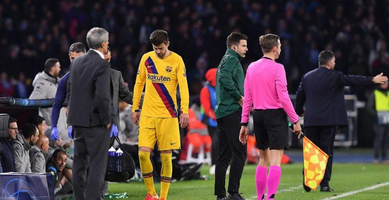 Pique geeft blessureupdate bij Barcelona en heeft belangrijk Clásico-nieuws