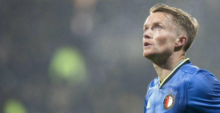 'Larsson gaat Feyenoord verlaten en levert de Rotterdammers vijf miljoen euro op'