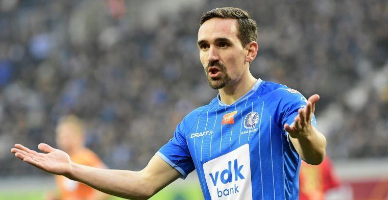 AA Gent heeft zijn plan klaar voor AS Roma: De wedstrijd in handen nemen