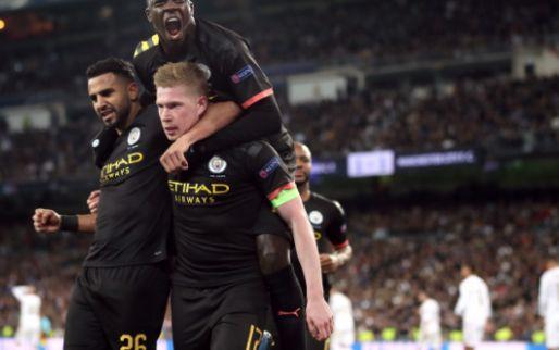 Manchester City dankt De Bruyne tegen Real Madrid: 'Enorm voetbal-IQ'