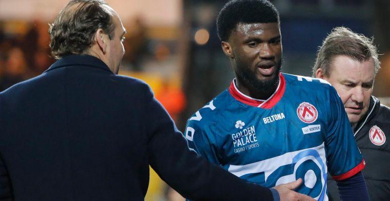 Ontdekking van Kortrijk scoorde tegen Club: Ik was toen in de zevende hemel