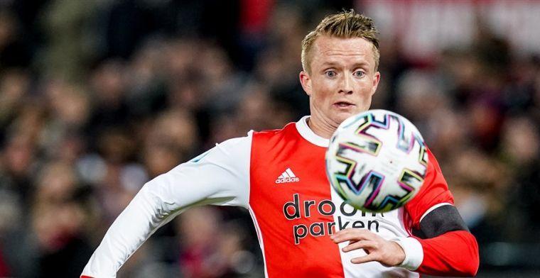 Larsson op weg naar Feyenoord-uitgang: 'Is gaan spelen zoals ik verwacht had'