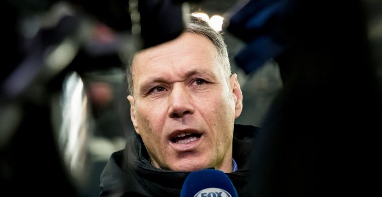 Van Basten: Dat is tekenend voor het niveau van Ajax op dit moment