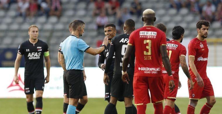 Ajax-opsteker 'niet bewust': kaartenkoning leidt duel in Johan Cruijff Arena