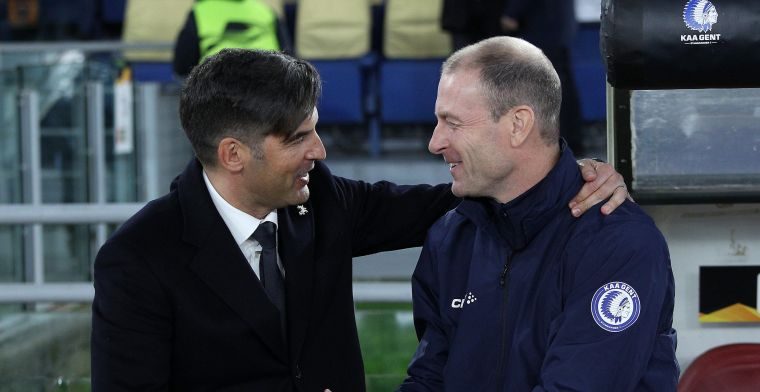 Roma-coach gelooft in kwalificatie: Heenwedstrijd heeft me niet verontrust