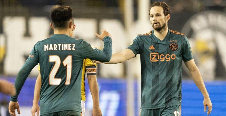 Blind beoogde Tagliafico-vervanger: 'Martínez té goed om linksback te spelen'