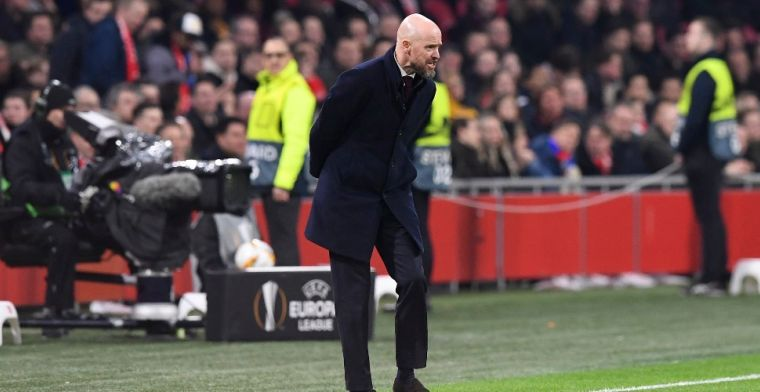 Ten Hag over incident met Getafe-trainer Bordalás: 'Dat hoort niet'