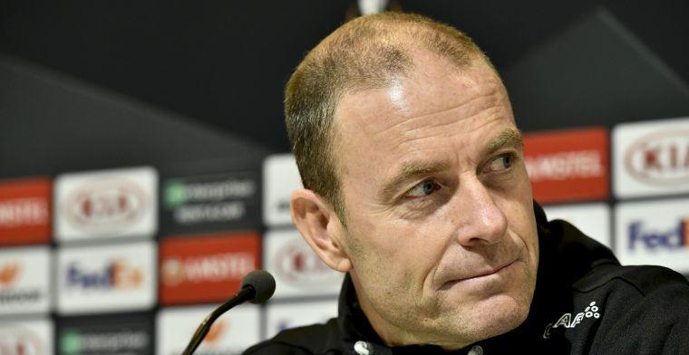 Thorup tevreden bij KAA Gent: Ik kan enkel trots zijn op mijn spelers