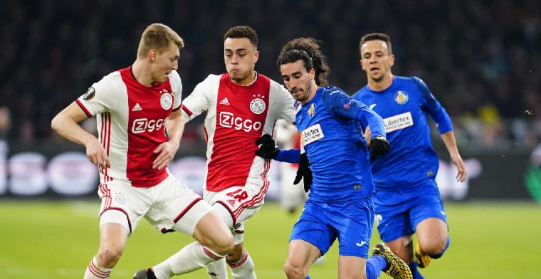 Ajax komt twee goals tekort voor stunt tegen onuitstaanbaar Getafe