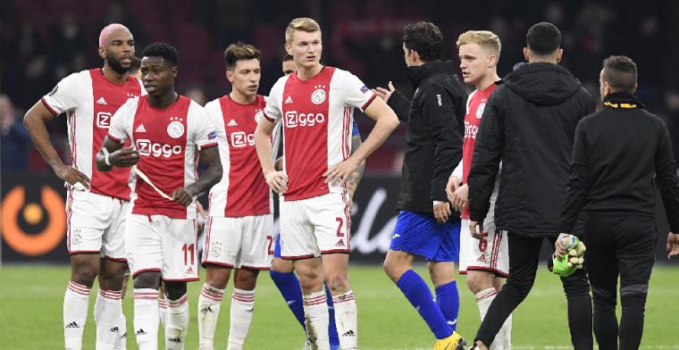 Ajax uitgeschakeld: 'Hoef dit gelukkig nooit meer te zien, wat een ziekte'