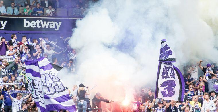 'Anderlecht riskeert fikse boete na nieuw incident tijdens partij tegen Mechelen'