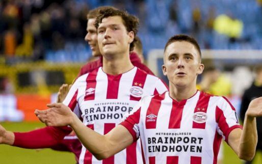 Afbeelding: PSV-spelers schudden geen handen meer: 'Het is niet uit onbeleefdheid'