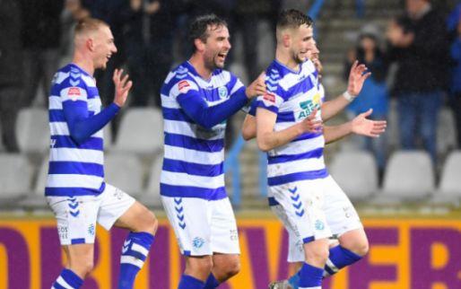 Afbeelding: De Graafschap heeft periodetitel binnen, Cambuur wint spektakelstuk van Jong PSV