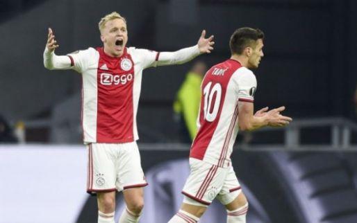 Van de Beek: 'Ik ben Ajacied en volgend seizoen misschien ook nog wel'