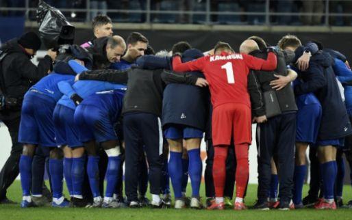 Frustratie bij Gent na uitschakeling: ruzie tussen twee ploegmaats