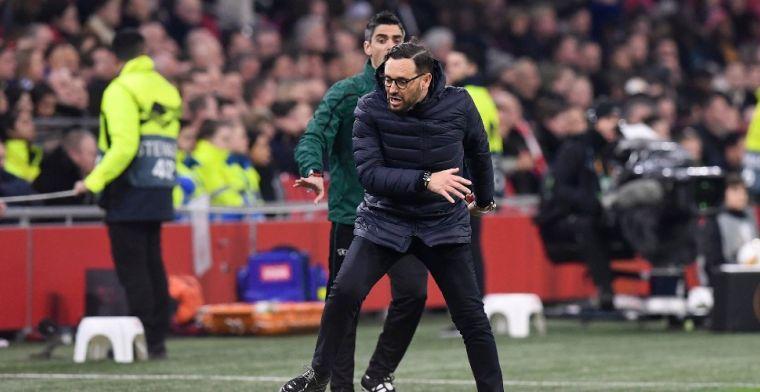 Bordalás hekelt Ajax: 'Als dat defensief is, weet ik niet wat voetbal betekent'