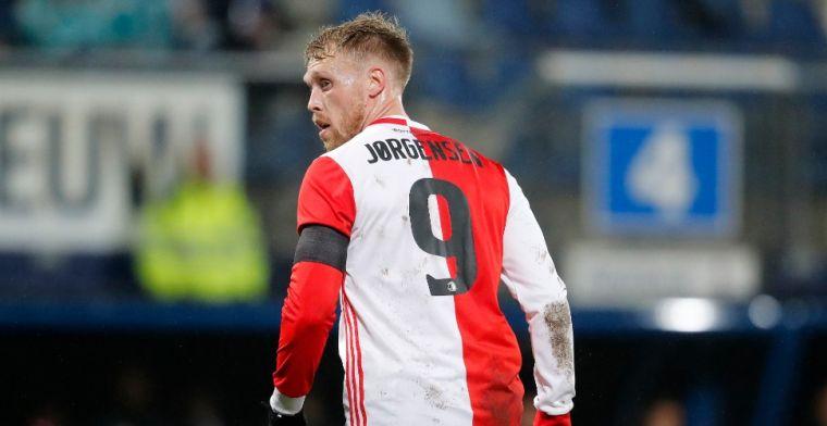 Bozeník moet Jörgensen vervangen bij Feyenoord: 'Kan beter, geldt voor iedereen'