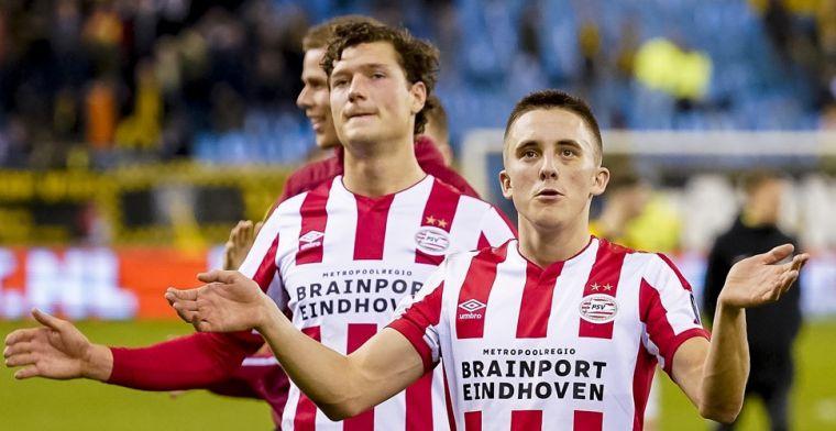 PSV-spelers schudden geen handen meer: 'Het is niet uit onbeleefdheid'