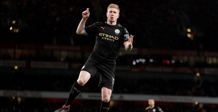 'De Bruyne steekt Busquets de loef af en volgt Belg op in de Champions League'