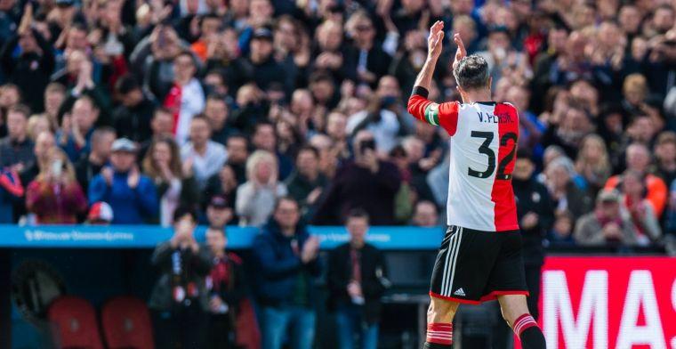 Van Persie geniet van opmars Feyenoord: 'Vind waar ze nu staan al fantastisch'