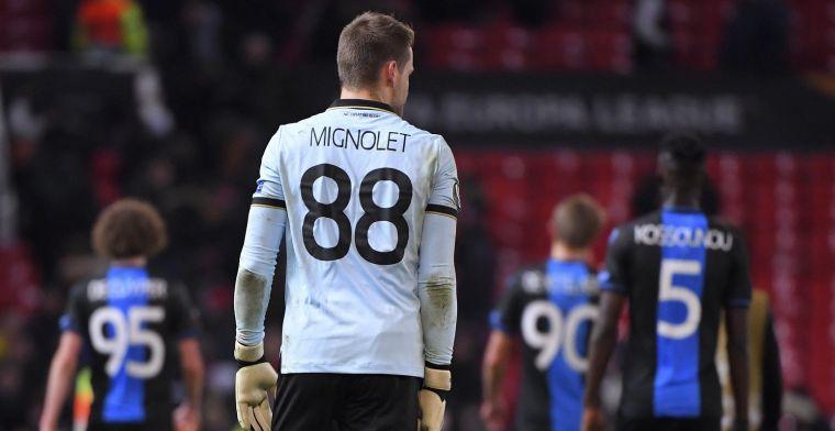 Mignolet toont zich mild bij Club Brugge: Menselijke reactie van Deli