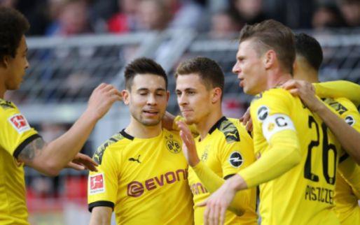 Afbeelding: Hazard helpt Dortmund aan winst met assist, Gladbach houdt aansluiting met top