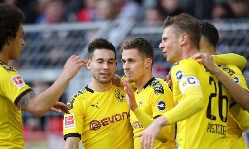 Afbeelding: Eén doelpunt genoeg voor Borussia Dortmund, geen treffer voor Haaland