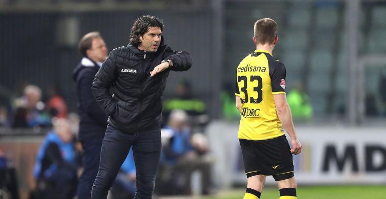 Dreun voor Roda JC: 'Verberne krijgt geen dispensatie en mag seizoen niet afmaken'