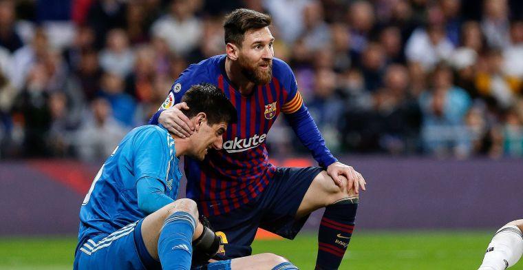 Clásico-vuurtje opgepookt: Barça slaat terug naar Courtois na Messi-uitspraak