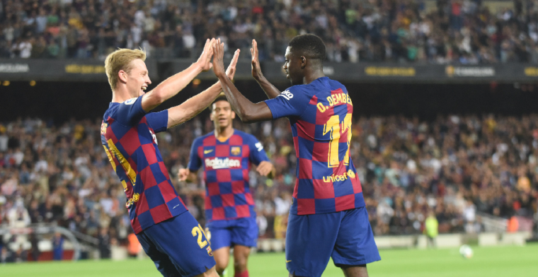 L'Equipe: Barcelona erkent schuld in Dembélé-zaak