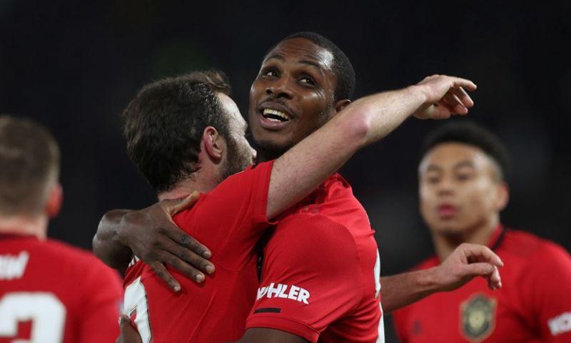 Afbeelding: Geen stunt van Derby en Rooney: Ighalo en Man United stoten door