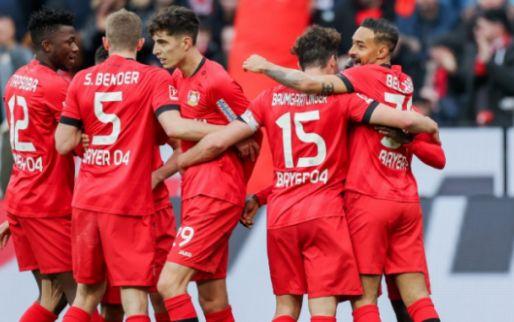 Afbeelding: Bosz' Leverkusen laat geen spaan heel van Frankfurt, Leipzig verspeelt punten