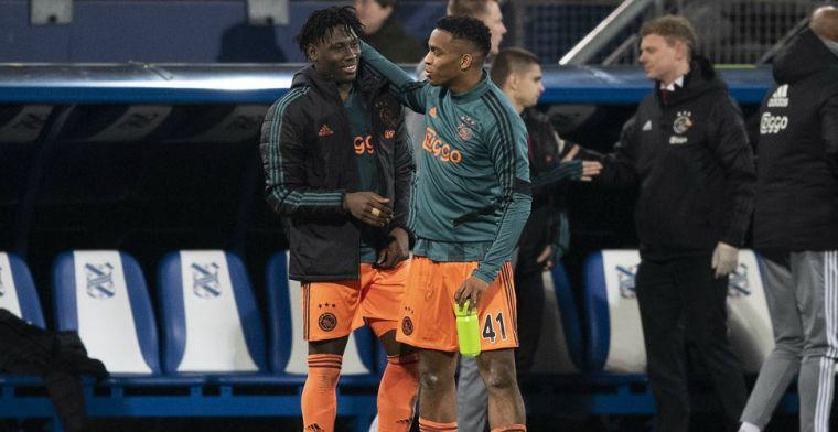 Timber 'verrast' door plotseling Ajax-debuut: 'Kreeg wel seintjes van spelers'