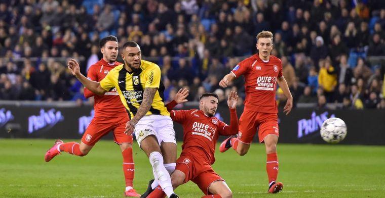 Controversiële, maar prachtige treffer van Grot beslist Vitesse - FC Twente