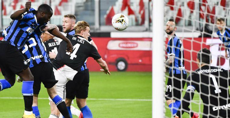 De Ligt juicht, De Vrij baalt: Juve schudt uitdager Inter af in troosteloos Turijn